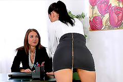 Office, Lesbian - Porn videos