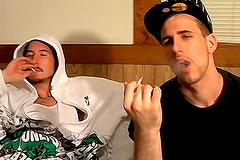 Smoking, Gay - Porn videos