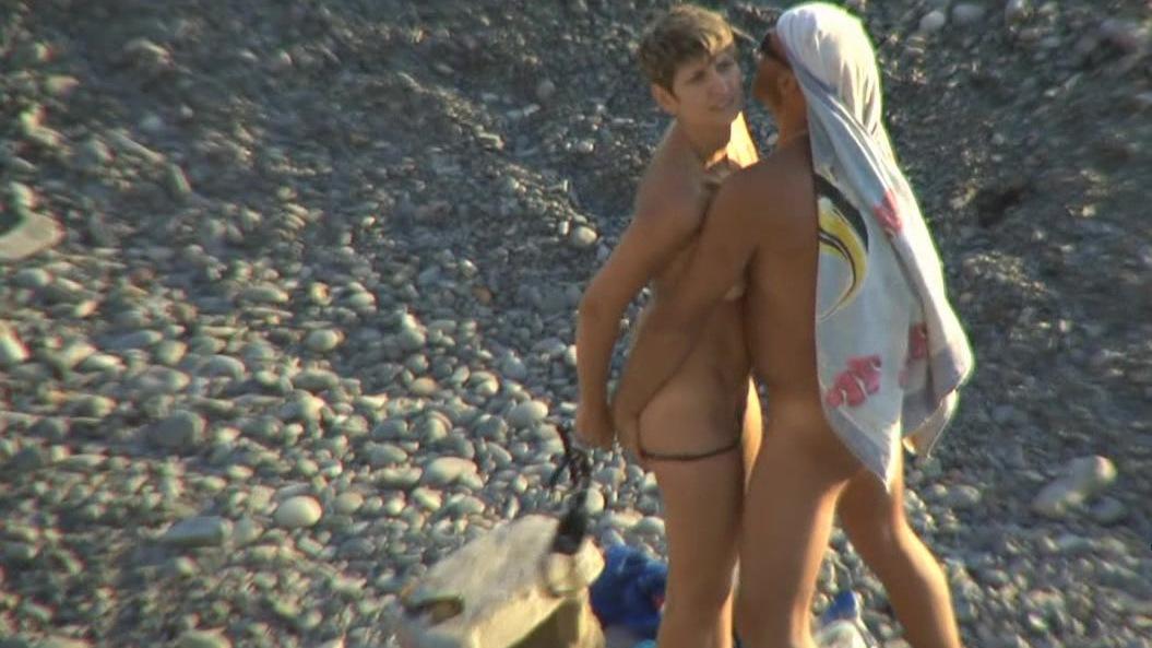 Скрытая-камера на пляже — photo 9