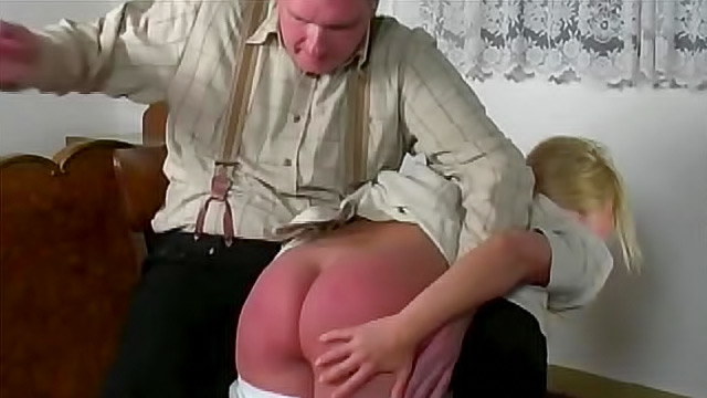 Girls getting spanked over the knee