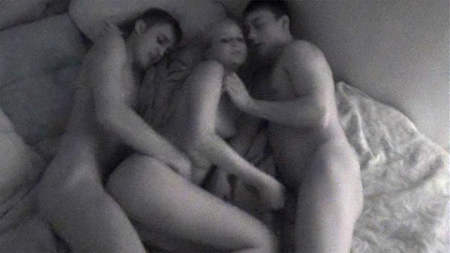 2 Blonde Teen Threesome
